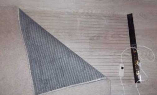 Мобильный теплый пол под ковер — переносное тепло в любом месте