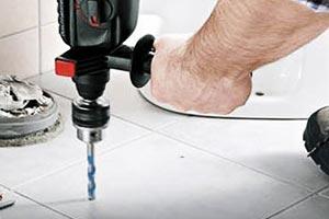 Правильное сверление напольной плитки