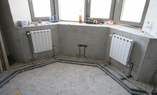 Как скрыть трубы отопления в полу?