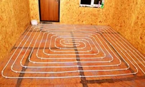 Устройство теплого водяного пола — нюансы при монтаже на деревянный пол