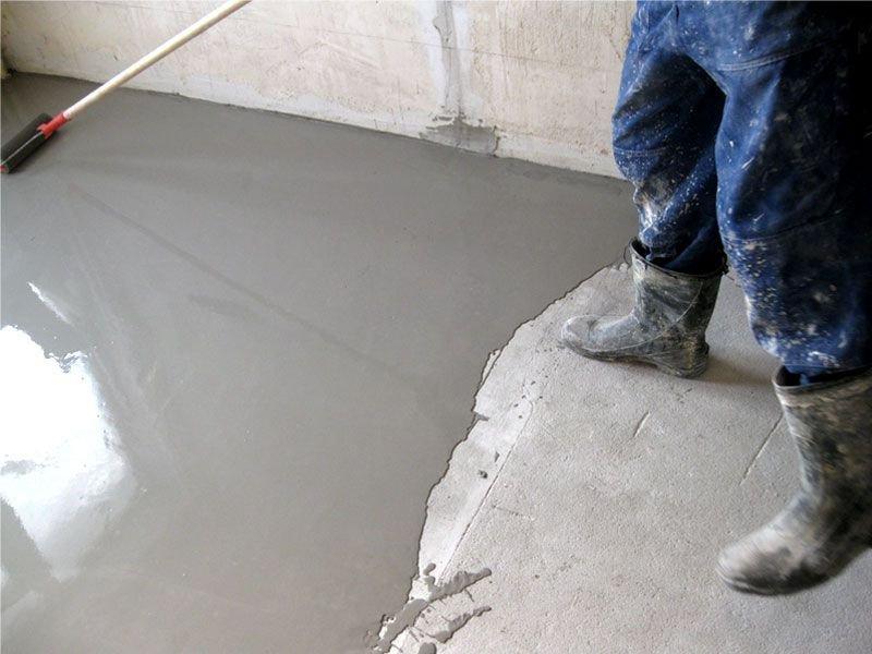 Обзор эпоксидных покрытий для полов из бетона + Технология нанесения покрытия