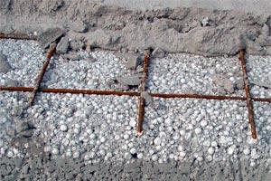 Армирование бетона