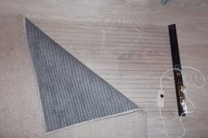 Мобильный пол под ковер