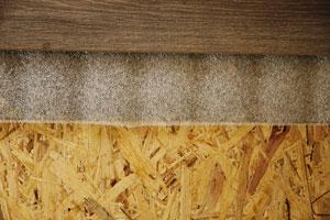 Укладка на деревянное основание