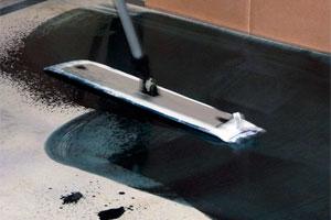 Методика обеспыливания бетона