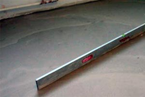 Так выглядит ровный бетонный пол